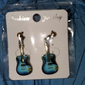 Guitar Earrings AMAZINGLY DETAILED